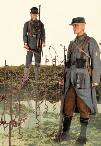 an overview of the french and german soldiers in world war one Project overview nov 1, 2017 presented by edwin fountain, vice-chair us world war one centennial commission from the ww1 centennial news podcast the sculpture's evolution jan 7, 2018 the soldier's journey jan 7, 2018 presented by sabin howard, project master sculptor from the documentation of his work.